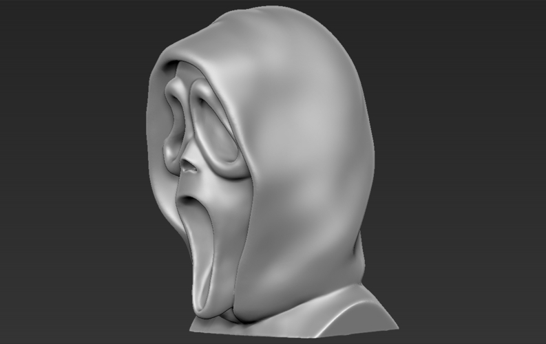 Ghostface from Scream bust 3D printing ready stl obj 3D Print 233109
