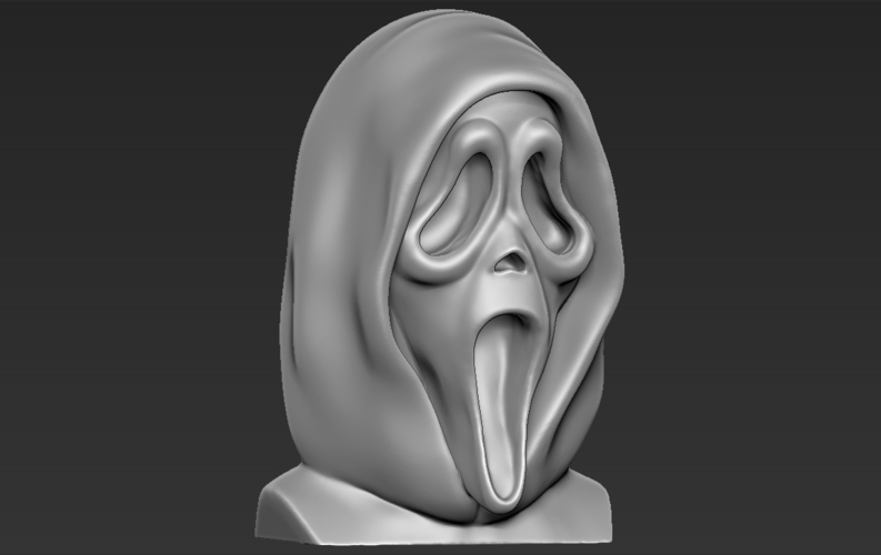 Ghostface from Scream bust 3D printing ready stl obj 3D Print 233113