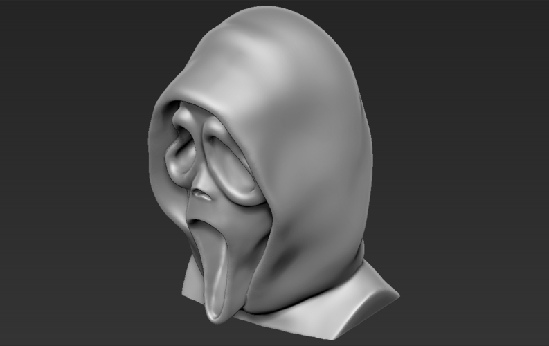 Ghostface from Scream bust 3D printing ready stl obj 3D Print 233114