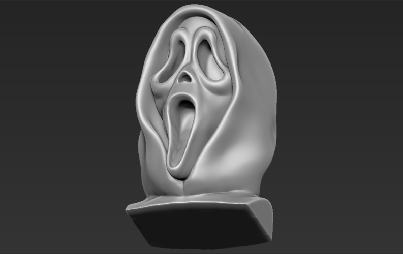 Ghostface from Scream bust 3D printing ready stl obj 3D Print 233115