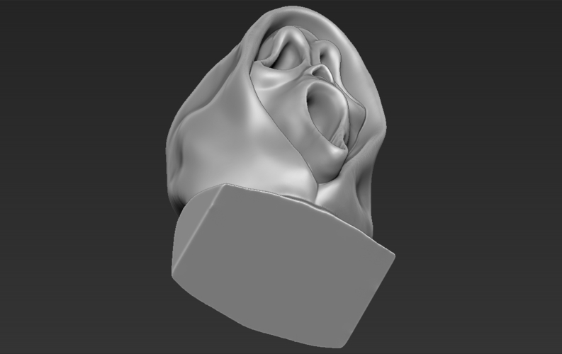 Ghostface from Scream bust 3D printing ready stl obj 3D Print 233118