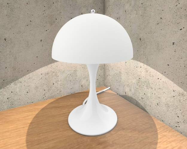 Panthella Table Lamp 3D Print 233306