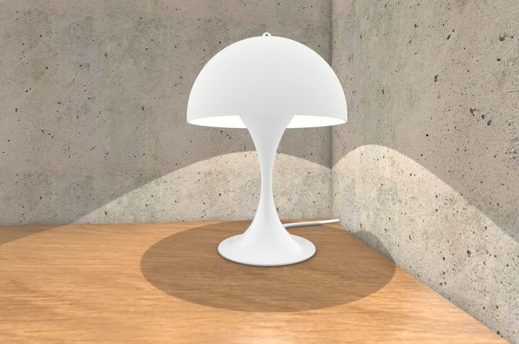 Panthella Table Lamp 3D Print 233307