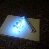 Small Booklight 3D Printing 233328