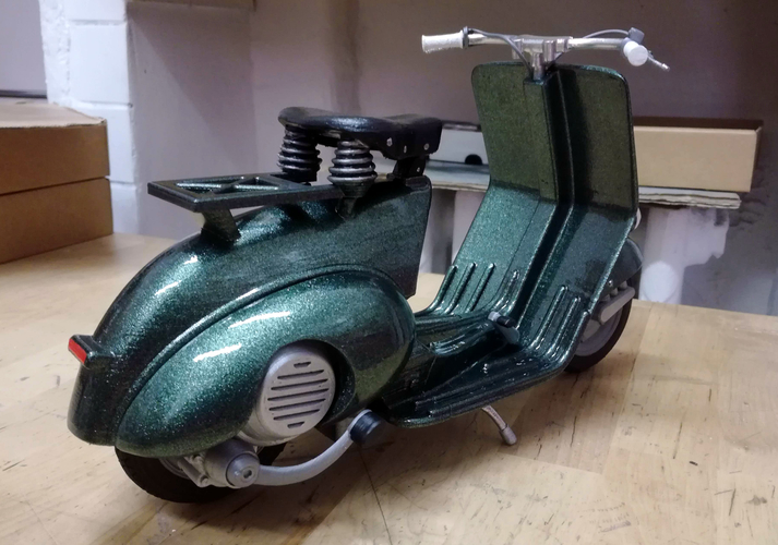 VESPA PIAGGIO 125 - 1951 FIRST MODEL 3D Print 233458