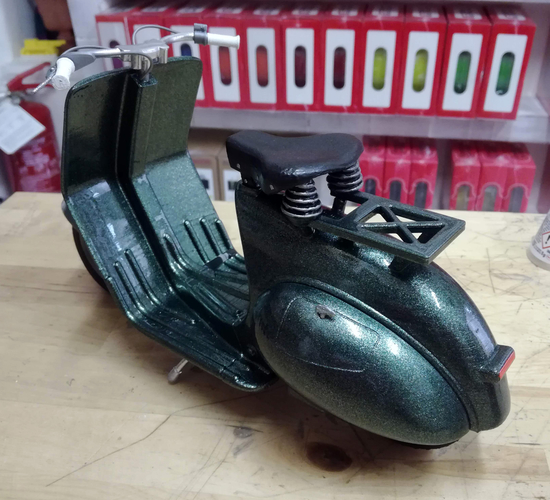 VESPA PIAGGIO 125 - 1951 FIRST MODEL 3D Print 233459