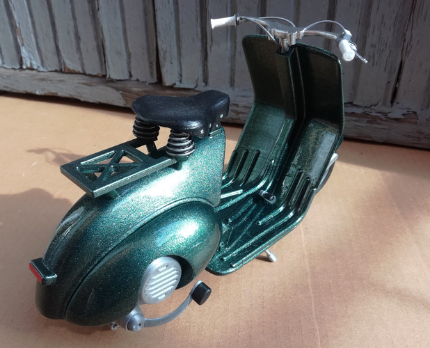 VESPA PIAGGIO 125 - 1951 FIRST MODEL 3D Print 233462