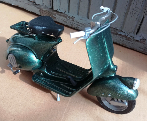 VESPA PIAGGIO 125 - 1951 FIRST MODEL 3D Print 233464