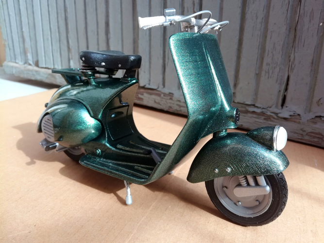 VESPA PIAGGIO 125 - 1951 FIRST MODEL 3D Print 233465