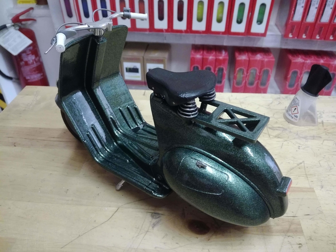 VESPA PIAGGIO 125 - 1951 FIRST MODEL 3D Print 233466