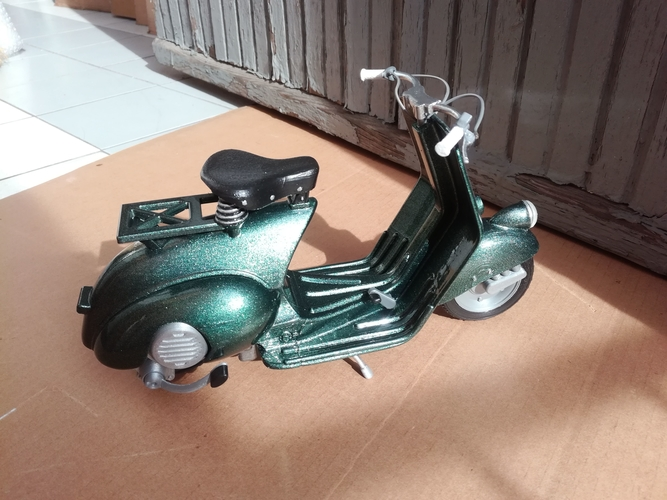 VESPA PIAGGIO 125 - 1951 FIRST MODEL 3D Print 233470