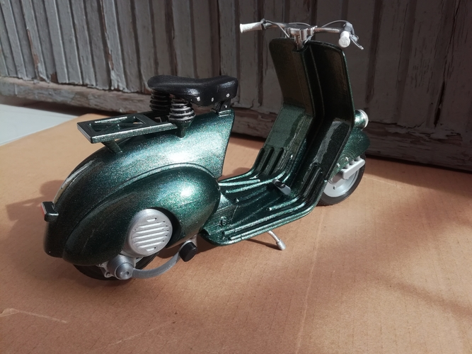 VESPA PIAGGIO 125 - 1951 FIRST MODEL 3D Print 233471