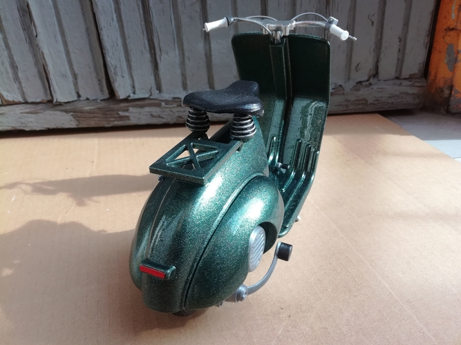 VESPA PIAGGIO 125 - 1951 FIRST MODEL 3D Print 233473