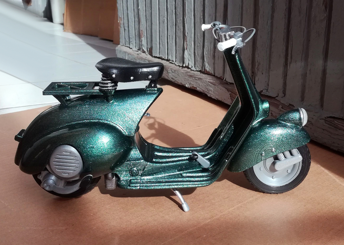 VESPA PIAGGIO 125 - 1951 FIRST MODEL 3D Print 233486