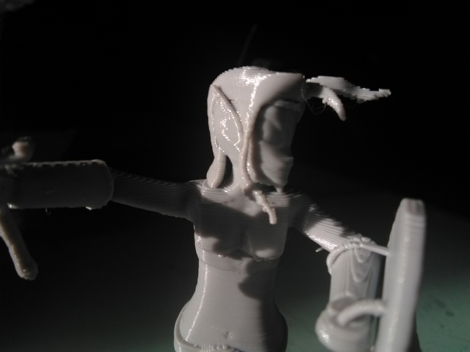 Naga Warrior from Steem Monsters 3D Print 233512
