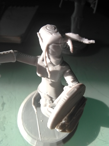 Naga Warrior from Steem Monsters 3D Print 233513