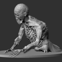 Small Zombie  3D Printing 233516