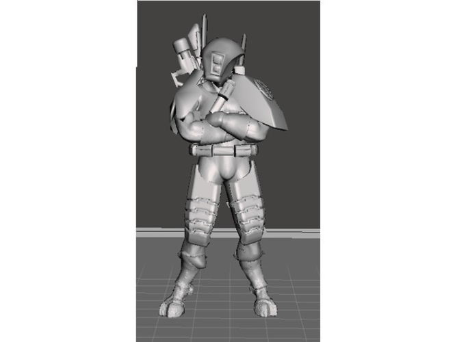 Greater Good Lost Sniper 3D Print 233639