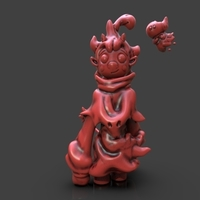 Small Demon Mirabelle 3D Printing 233656