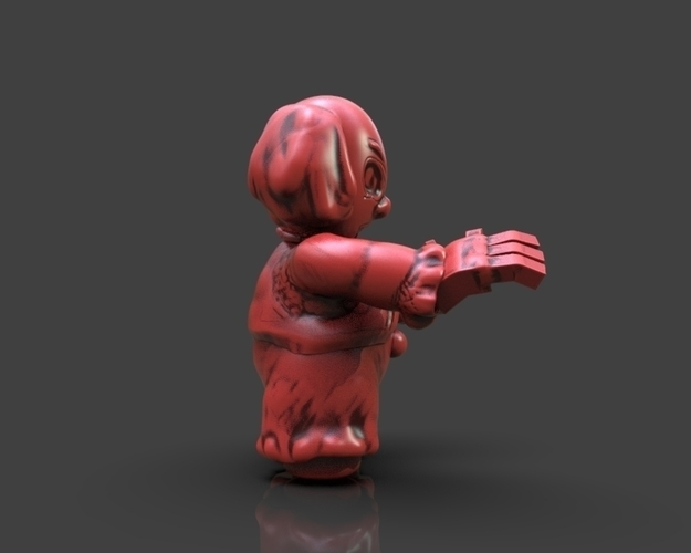 Cartoon Pennywise 3D Print 233662
