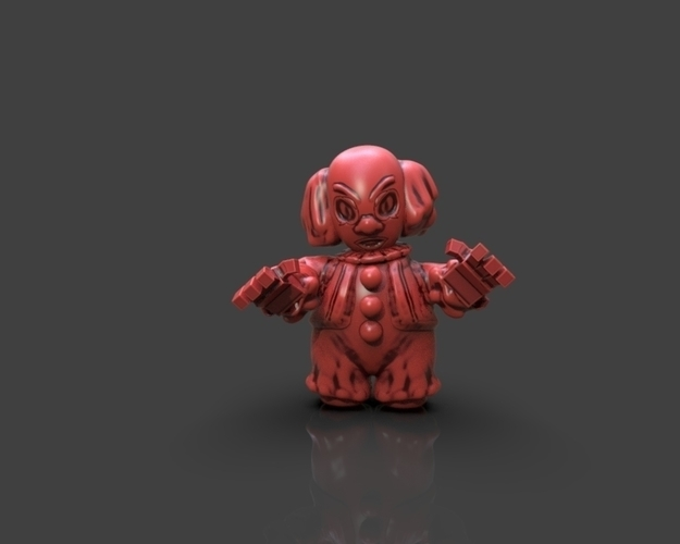 Cartoon Pennywise 3D Print 233665
