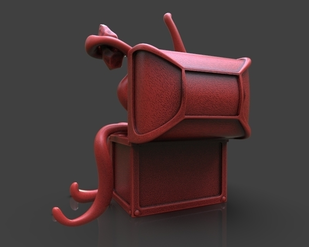 Mimic Chest Monster 3D Print 233699