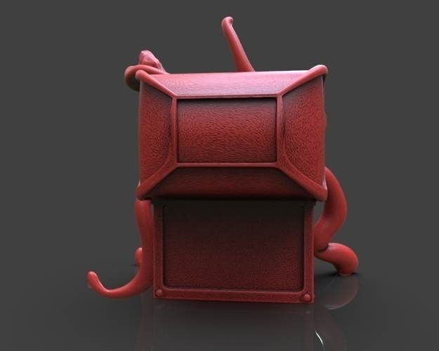 Mimic Chest Monster 3D Print 233700