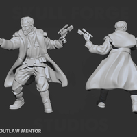 Small Outlaw Mentor Bundle 3D Printing 233717