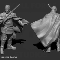 Small Sinister Baron 3D Printing 233719