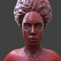Small Bride Of The Frankenstein 3D Printing 233821