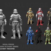 Small Livery Trooper (LTP series 1) 3D Printing 233899