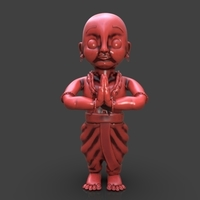 Small Little Buddha 3D Printing 233926