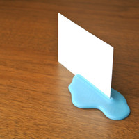 Small Puddle Card Stand 3D Printing 23399