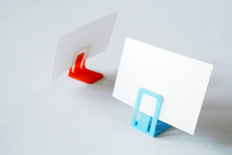 Card stand 3D Print 23406