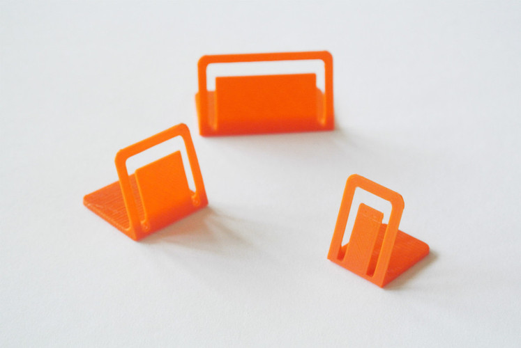 Card stand 3D Print 23408