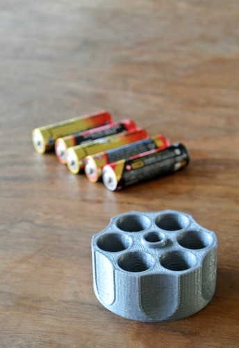 AA battery holder 3D Print 23412