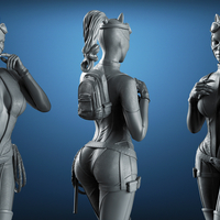 Small CATWOMAN - 3D Print  Model 3D Printing 234161