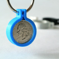 Small Quarter coin holder 3D Printing 23421