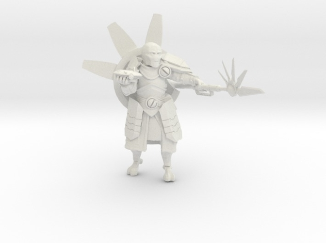 Greater Good Warrior Priest 3D Print 234253
