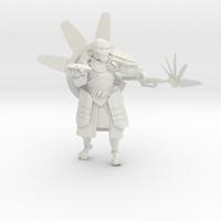 Small Greater Good Warrior Priest 3D Printing 234253
