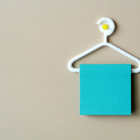 Small Sticky Note Hanger 3D Printing 23427