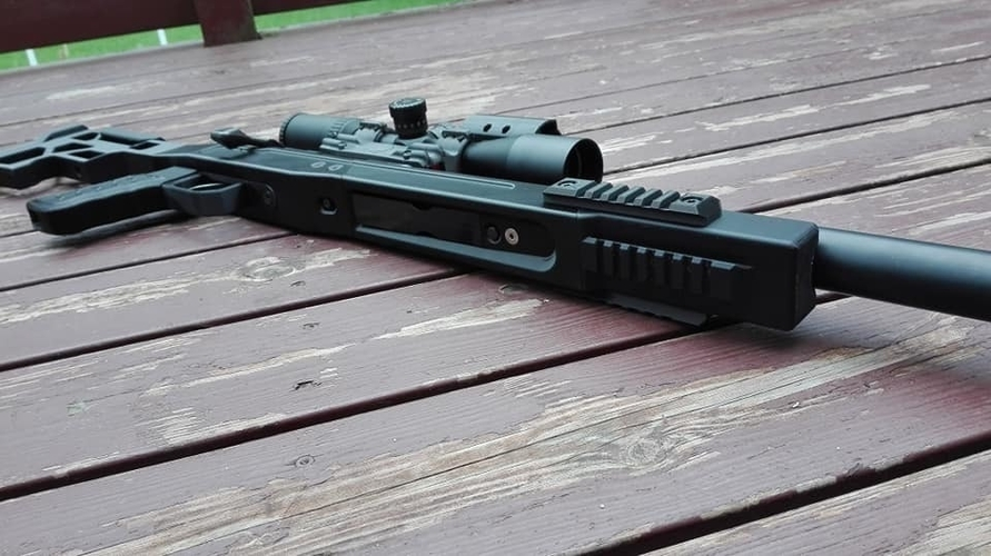 LSP Tactical Vsr 10 stock 3D Print 234303