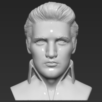 Small Elvis Presley bust 3D printing ready stl obj 3D Printing 234347