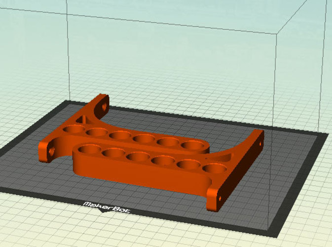 Customizable Wall Shelf 3D Print 23445