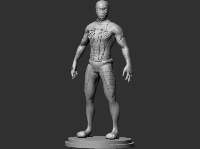Spiderman Figurine 3D Print 234451