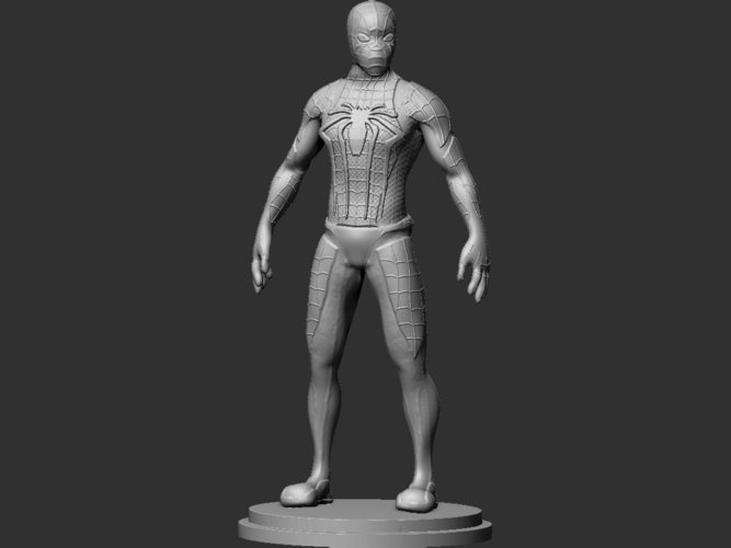 Spiderman Figurine 3D Print 234452