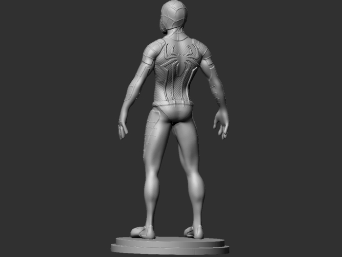 Spiderman Figurine 3D Print 234453