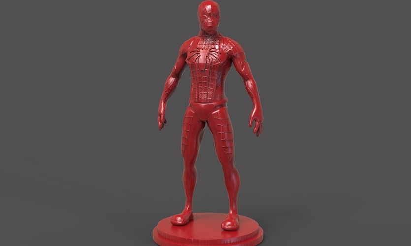 Spiderman Figurine 3D Print 234454
