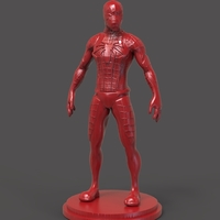 Small Spiderman Figurine 3D Printing 234454