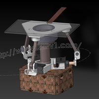 Small miniServo Balance Table 3D Printing 234555